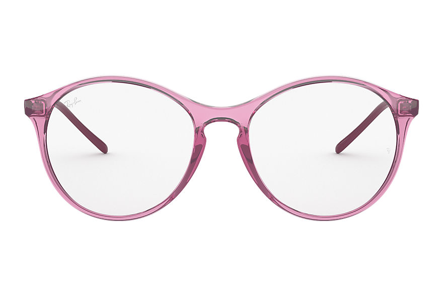 Ray-Ban  eyeglasses RX5371 FEMALE 001 rb5371 transparent pink 8056597138031