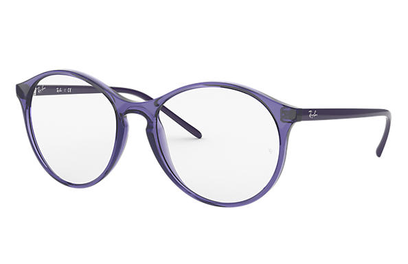 Ray-Ban 0RX5371-RB5371 Violet transparent,Violette; Violette OPTICAL