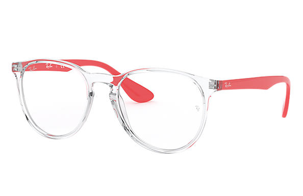 Ray-Ban 0RX7046-ERIKA OPTICS Transparent; Red OPTICAL