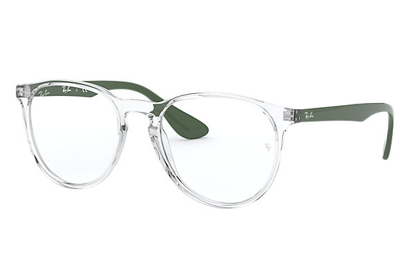 Ray-Ban 0RX7046-ERIKA OPTICS Transparent; Green OPTICAL