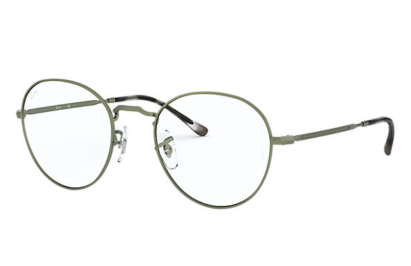 Ray-Ban 0RX3582V-ROUND METAL OPTICS II Sand Green OPTICAL