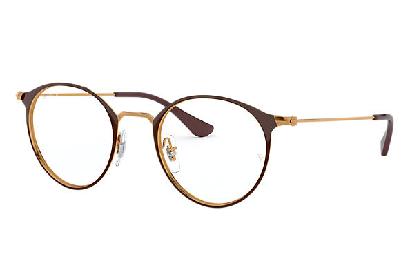 Ray-Ban 0RX6378-RB6378 Brown,Transparent; Transparent Brown,Brown OPTICAL