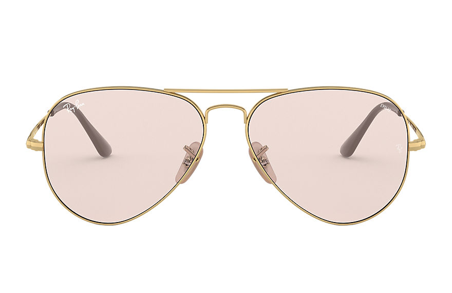 Ray-Ban  sunglasses RB3689 UNISEX 005 rb3689 solid evolve gold 8056597139267