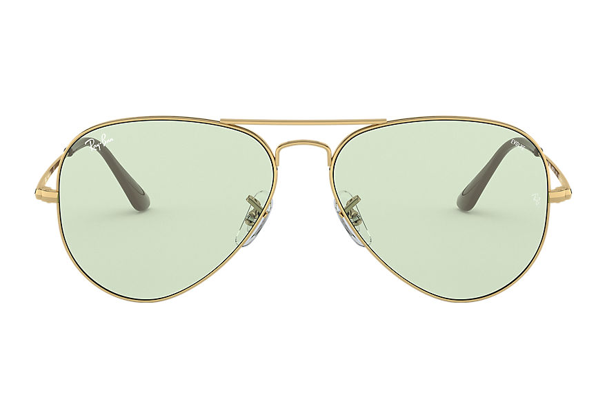 Ray-Ban  sunglasses RB3689 UNISEX 001 rb3689 solid evolve 金色 8056597139298