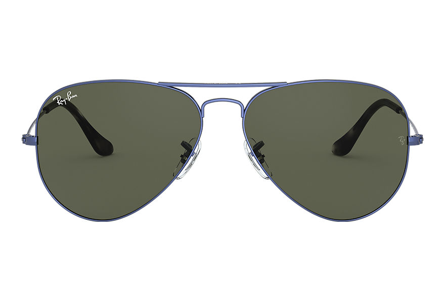 Ray-Ban  sunglasses RB3025 UNISEX 001 飞行员·经典 blue metal 8056597139540