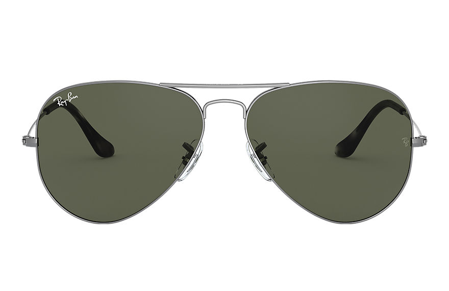 Ray-Ban  sunglasses RB3025 UNISEX 001 aviator classic grey metal 8056597139649