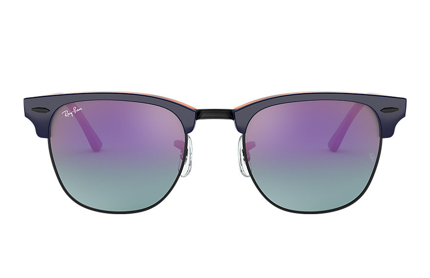 Ray-Ban  sunglasses RB3016 UNISEX 001 clubmaster color mix blauw 8056597139809