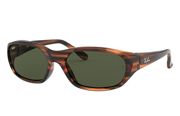 Ray-Ban 0RB2016-DADDY-O II Striped Red Havana SUN