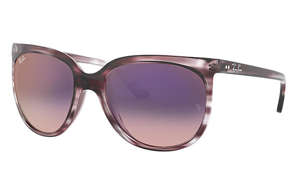 Ray-Ban 0RB4126-CATS 1000 Striped Grey Gradient Brown,Grau; Striped Grey Gradient Brown SUN