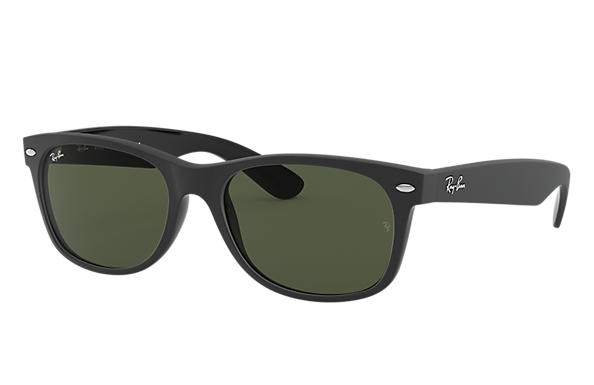 Ray-Ban 0RB2132-NEW WAYFARER COLOR MIX Schwarz SUN