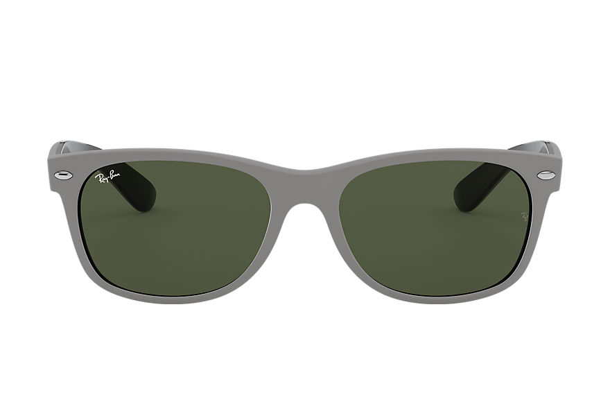 Ray-Ban  lunettes de soleil RB2132 UNISEX 001 new wayfarer color mix matte grey 8056597140119