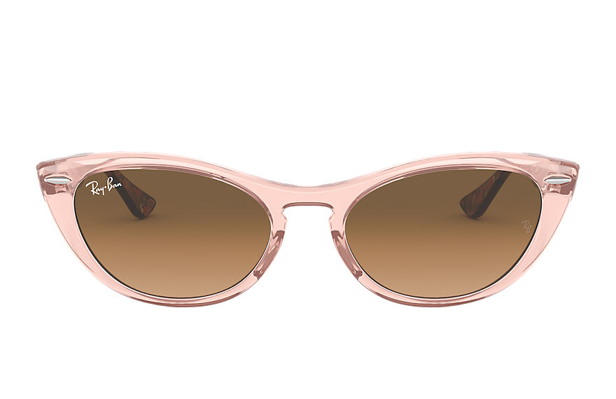 Ray-Ban  lunettes de soleil RB4314N FEMALE 001 nina transparent brown 8056597140393