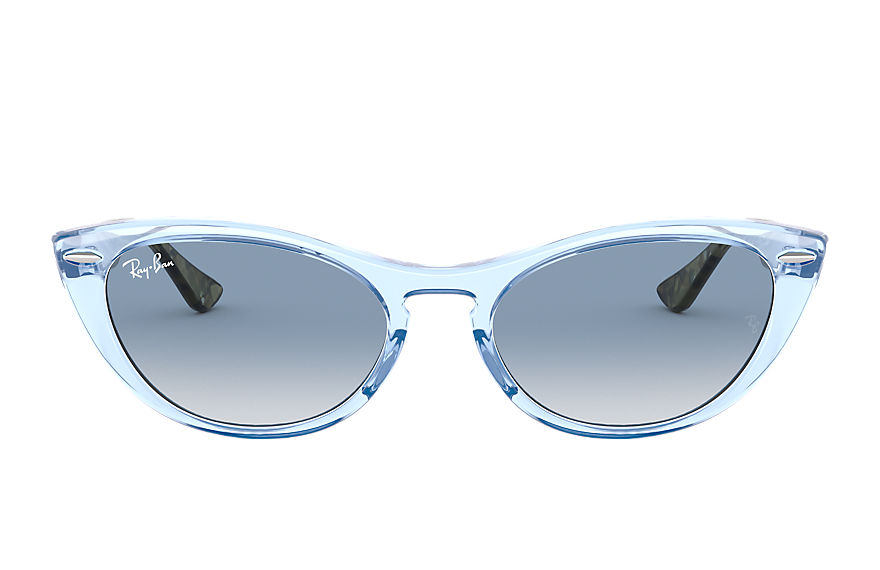 Ray-Ban  sunglasses RB4314N FEMALE 001 nina transparent blue 8056597140416