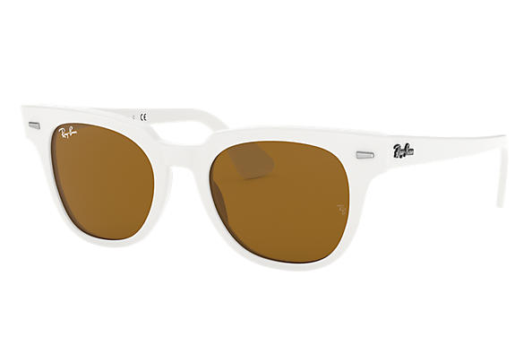 Ray-Ban Sunglasses METEOR CLASSIC Grey Gradient Havana with Blue Classic lens