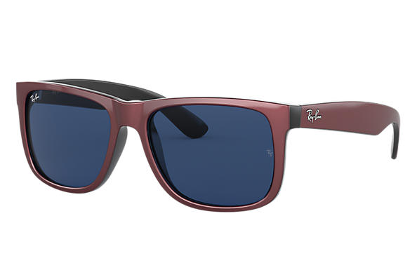 Ray-Ban 0RB4165-JUSTIN COLOR MIX Bordeaux,Noir SUN