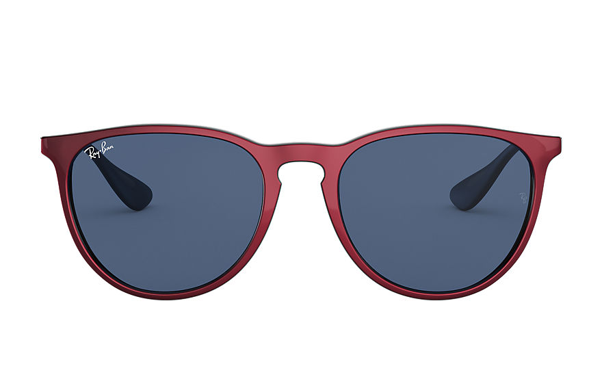Ray-Ban  lunettes de soleil RB4171 UNISEX 013 erika color mix red metal 8056597140980