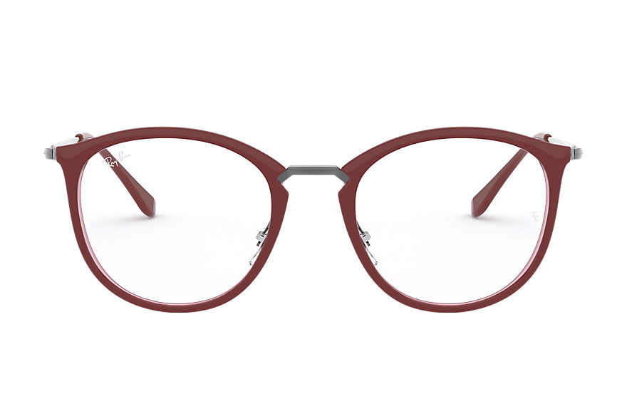 Ray-Ban  eyeglasses RX7140 UNISEX 001 rb7140 bordeaux 8056597141086
