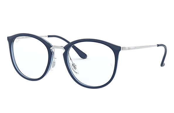 Ray-Ban 0RX7140-RB7140 Blue; Silver OPTICAL