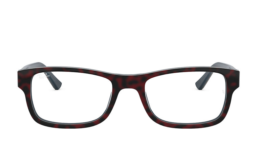 Ray-Ban  eyeglasses RX5268 UNISEX 001 rb5268 red havana 8056597141321