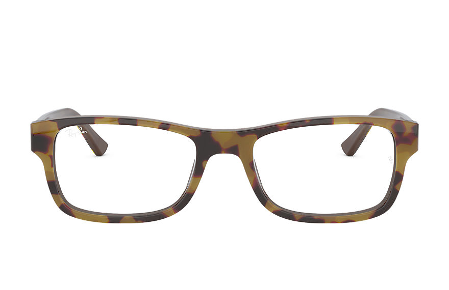 Ray-Ban  eyeglasses RX5268 UNISEX 001 rb5268 yellow havana 8056597141345