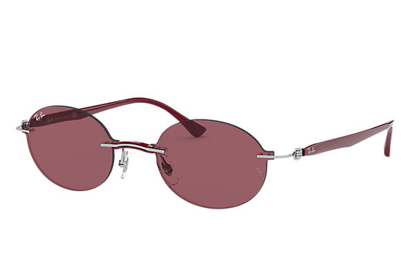 Ray-Ban 0RB8060-RB8060 Silver; Bordeaux SUN
