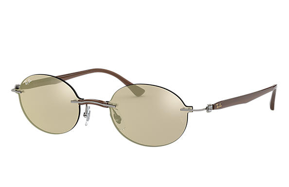 Ray-Ban 0RB8060-RB8060 Grey; Light Brown,Brown SUN