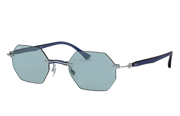 Ray-Ban 0RB8061-RB8061 Gunmetal; Dark Blue,Blue SUN
