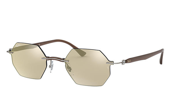 Ray-Ban 0RB8061-RB8061 Grigio; Marrone SUN