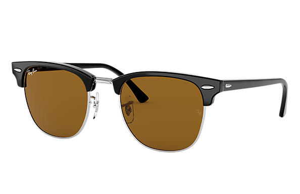 Ray-Ban 0RB3016-CLUBMASTER CLASSIC Schwarz SUN