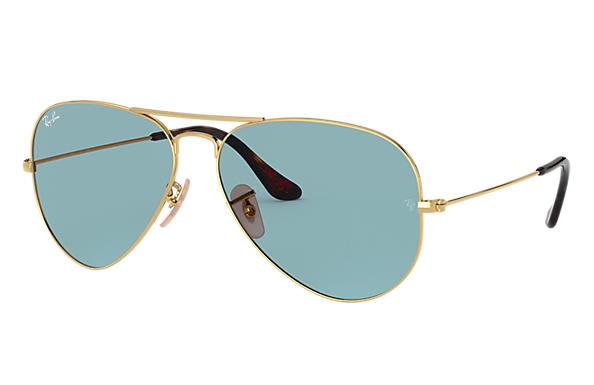 Ray-Ban 0RB3025-AVIATOR TEAM WANG X RAY-BAN Gold SUN