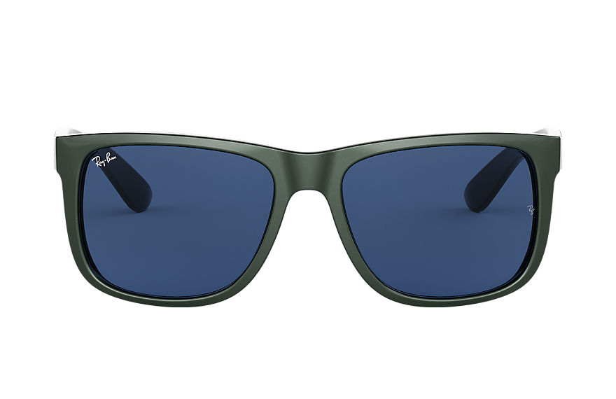 Ray-Ban  sunglasses RB4165F UNISEX 001 贾斯丁·混色 绿色 8056597145497