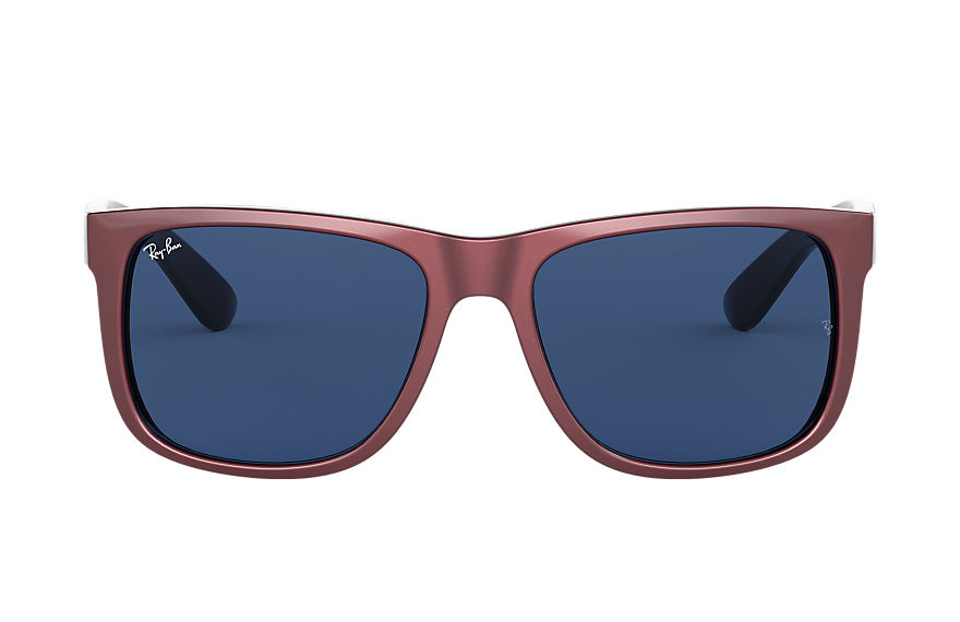 Ray-Ban  sunglasses RB4165F UNISEX 002 贾斯丁·混色 酒红色 8056597145510