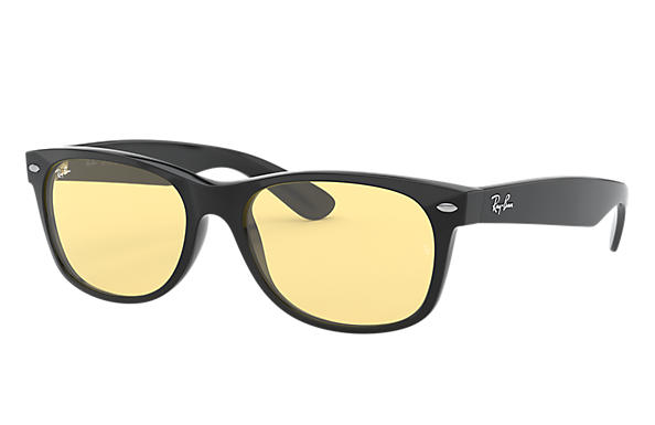 Ray-Ban 0RB2132F-NEW WAYFARER COLOR MIX LOW BRIDGE FIT Black SUN