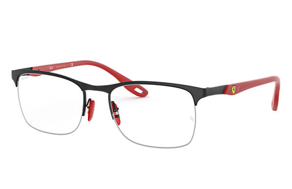 Ray-Ban Graduados RB8416M SCUDERIA FERRARI COLLECTION Preto fosco