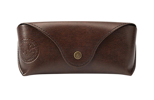Ray-Ban ARB0002AT-Shades Shell Ltd Case Chocolate Brown CASE