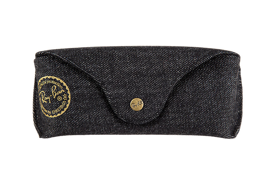 Ray-Ban SPECIAL EDITION DENIM CASE Schwarz