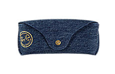 Ray-Ban SPECIAL EDITION DENIM CASE Blue