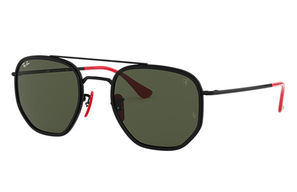 Ray-Ban 0RB3748M-RB3748M SCUDERIA FERRARI COLLECTION Black SUN