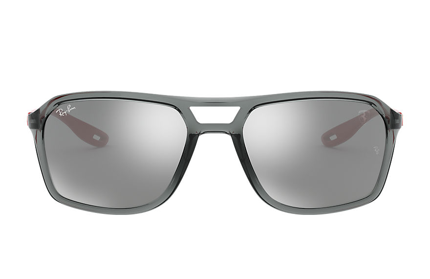 Ray-Ban  sonnenbrillen RB4329M MALE 005 rb4329m scuderia ferrari collection transparent grey 8056597148351