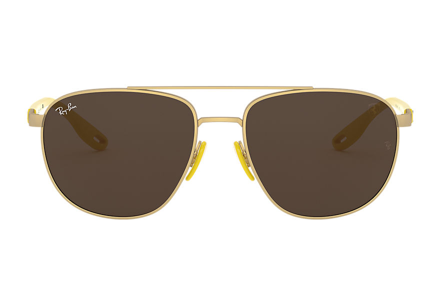 Ray-Ban  sonnenbrillen RB3659M MALE 002 rb3659m scuderia ferrari collection matte gold 8056597148412