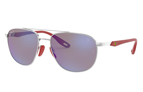 Ray-Ban 0RB3659M-RB3659M SCUDERIA FERRARI COLLECTION Silver SUN