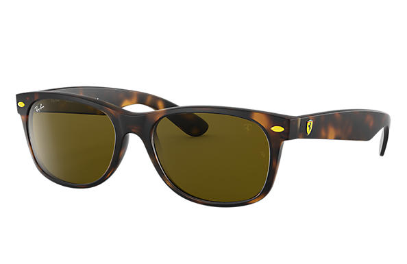 Ray-Ban 0RB2132M-RB2132M SCUDERIA FERRARI COLLECTION Tortoise SUN