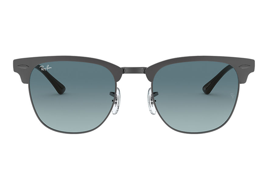 Ray-Ban  sunglasses RB3716 UNISEX 001 clubmaster metal online exclusive gunmetal 8056597149303