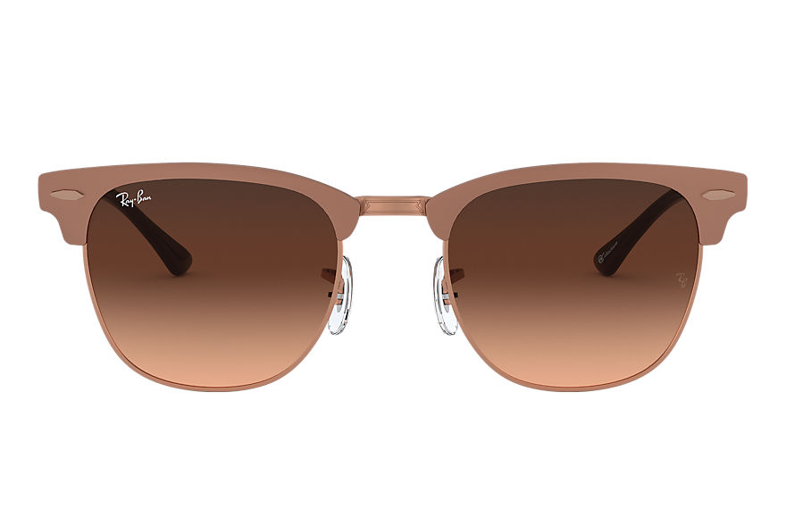 Ray-Ban  sunglasses RB3716 UNISEX 002 clubmaster metal online exclusive bronze copper 8056597149327
