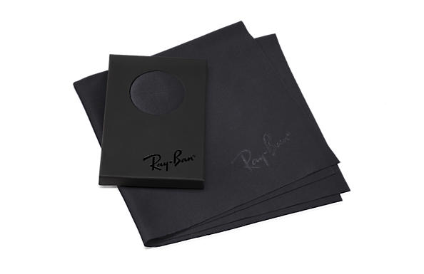 Ray-Ban Accessories Cleaning Cloth Black