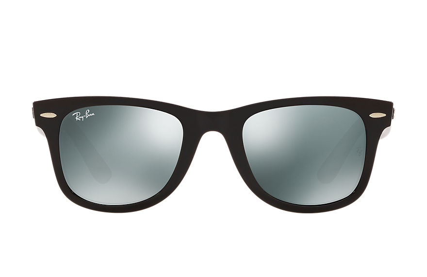 Ray-Ban Sunglasses WAYFARER X SAVE THE CHILDREN Black with Silver Mirror lens