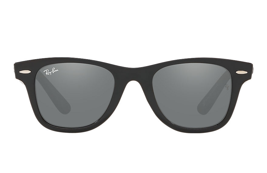 Ray-Ban WAYFARER JUNIOR X SAVE THE CHILDREN Black with Grey Mirror lens