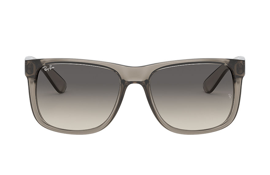 Ray-Ban Sunglasses JUSTIN EXCLUSIVE Transparent Grey with Grey Gradient lens