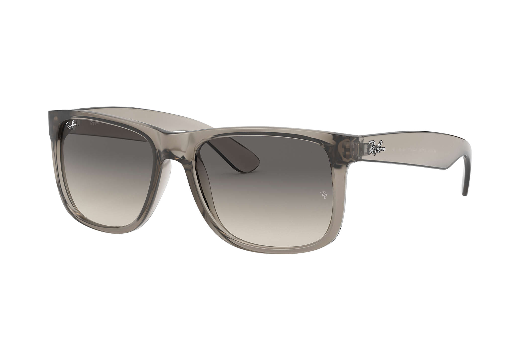 Ray Ban Justin Exclusive Rb4165 Transparent Grey Nylon Grey Lenses 0rb416564491155 Ray Ban Usa Find great deals on ebay for transparent sunglasses. check out the justin exclusive at ray ban com