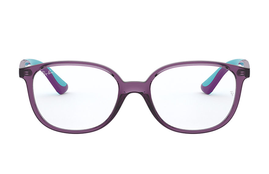 Ray-Ban  sehbrillen RY1598 CHILD 002 rb1598 violett transparent 8056597175630